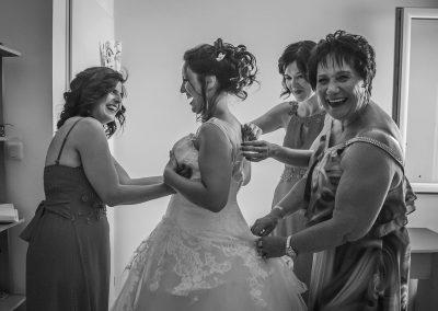Eclat de rire mariage
