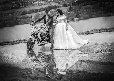 Mariage motard