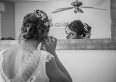 Preparatif de la mariée