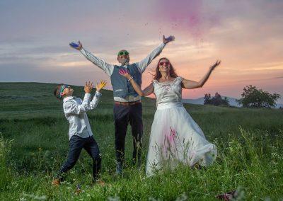 photo mariage décalée