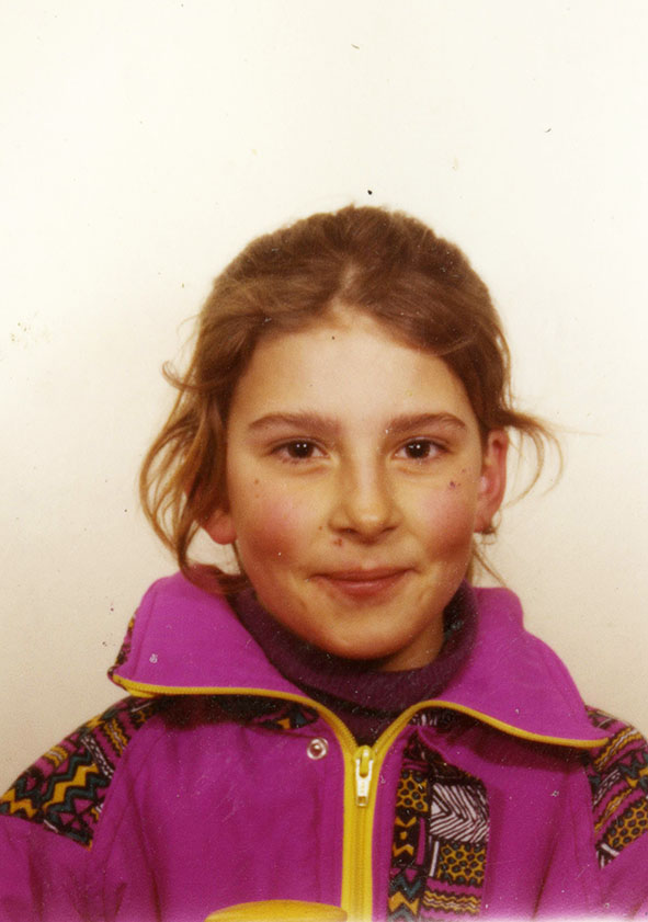 magali coquard photo enfance